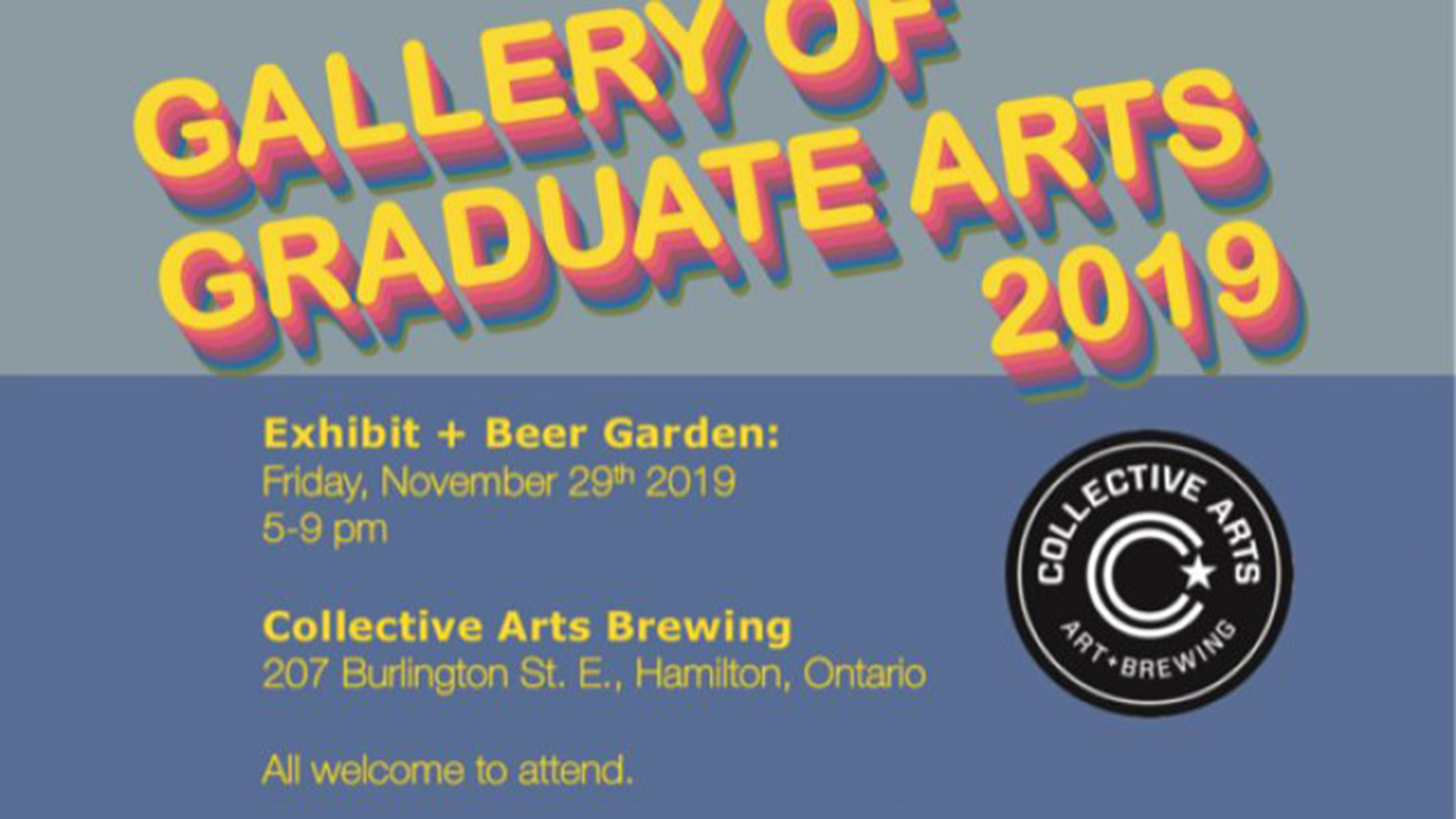 Gallery of grad art poster