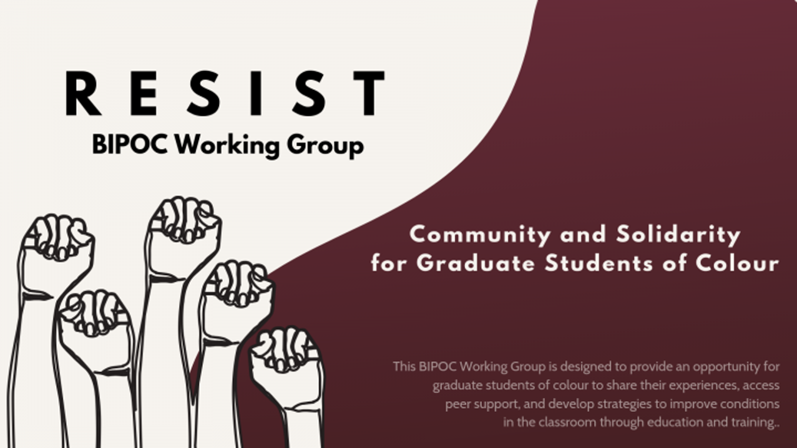 Resist BIPOC working Group