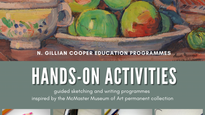 Hands-on activities organized by the McMaster Museum of Art