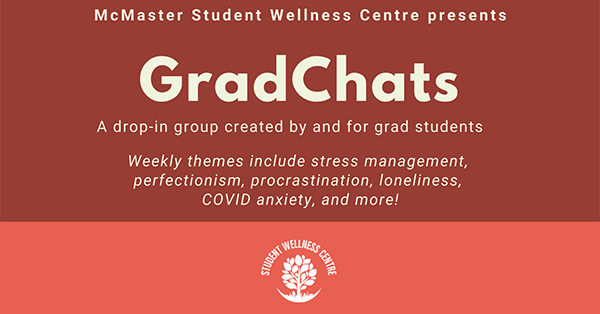 GradChat presented by the Student Wellness Centre
